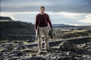 Walter Mitty (Ben Stiller) finds himself in Iceland with a skateboard and a daydream.