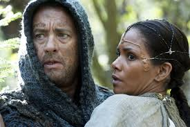 In the distant future, Zachry (Tom Hanks) and Meronym (Halle Berry) work together to find the answers.